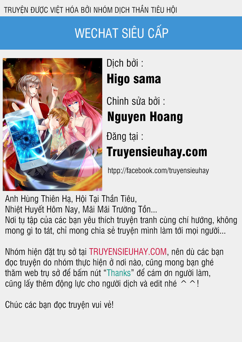 Wechat Siêu Cấp chapter 36 video - Upload bởi truyensieuhay.com