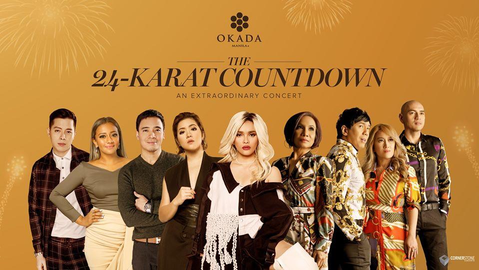 Okada Manila's 24-Karat Countdown
