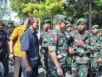 Dandim 0808/Blitar Ikuti Apel Gelar Pasukan Dalam Rangka Pelantikan Presiden Dan Wakil Presiden