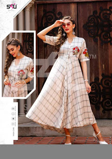 S4U Hello Spring 2019 kurtis wholesale and Gown Online Shopping summer wear