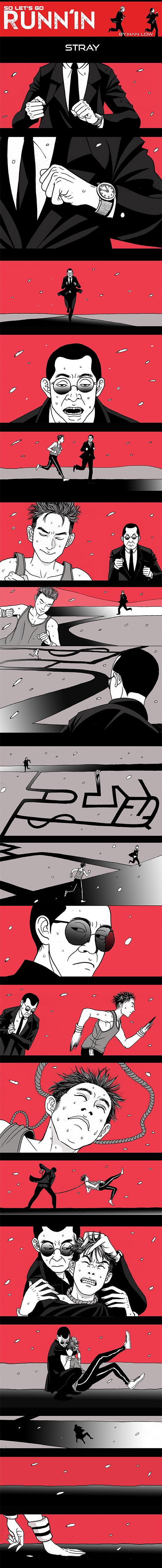 Chạy và Chạy chap 9: Lạc lối