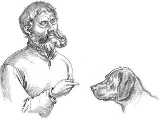 fabula el viajero y su perro