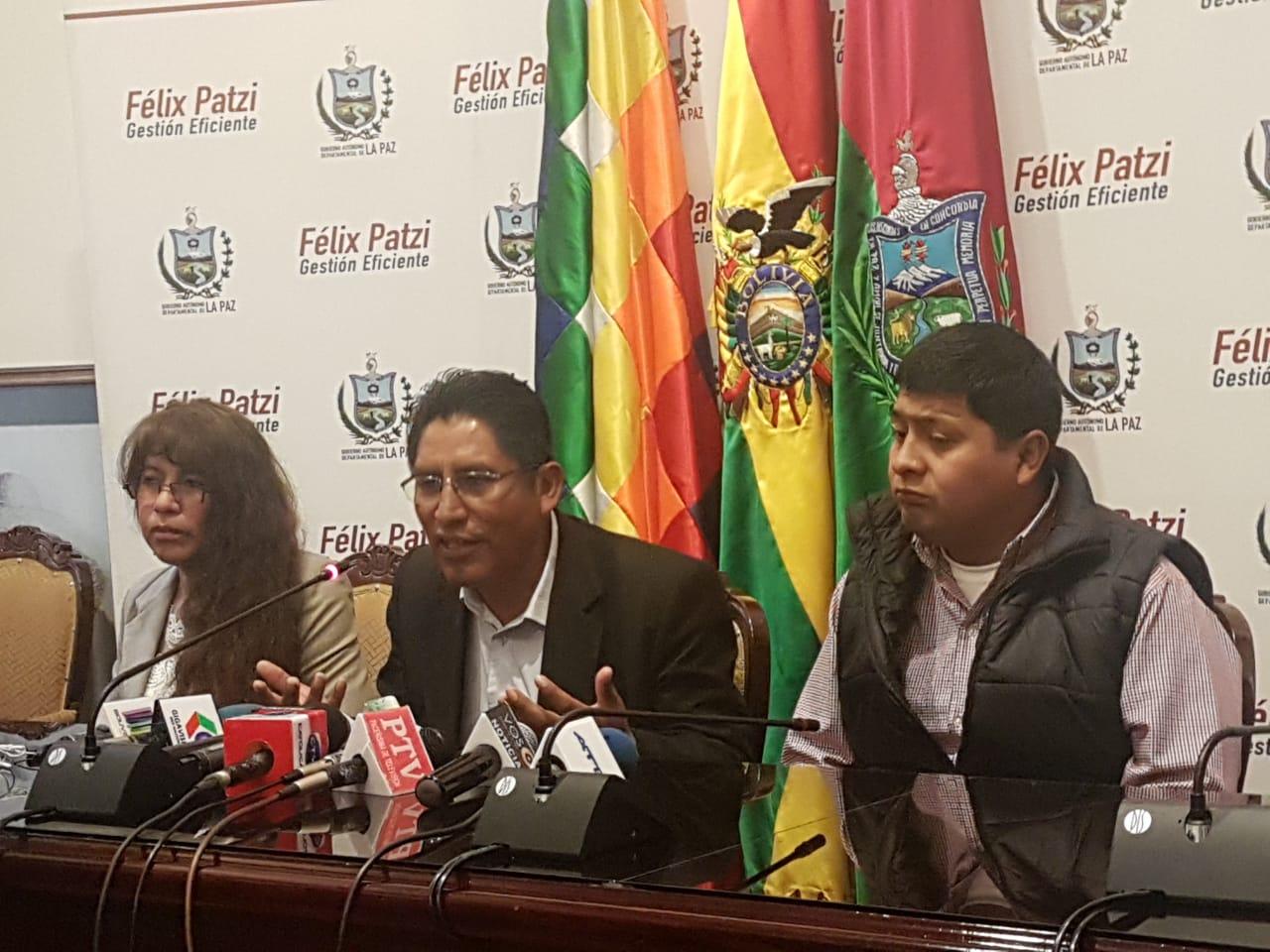 Patzi en conferencia de prensa pidió pacificar el país y esperar nuevas elecciones / RADIO LIDER