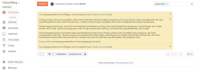 Cara membuat blog gratis terbaru lengkap