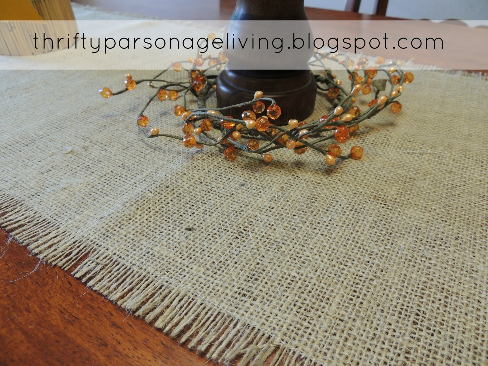 Make Took Runner This Burlap Minutes Table To Less 20 Than Shorter