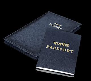 Storite PU Leather Travel Passport Holder Cover