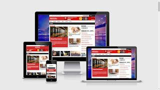 template flatnews gratis