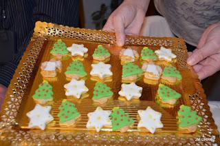 Receta de galletas variadas de Navidad