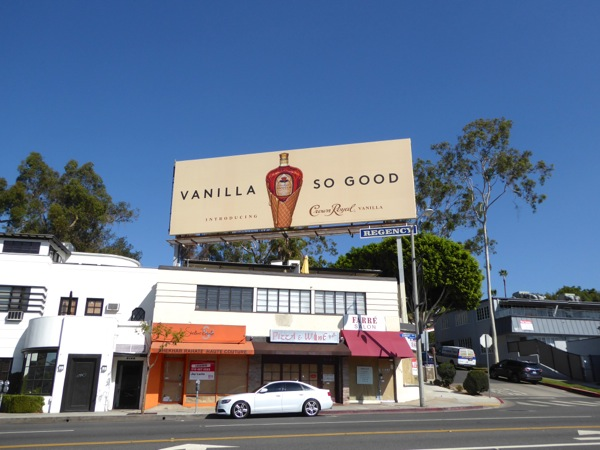 Crown Royal Vanilla billboard Sunset Strip