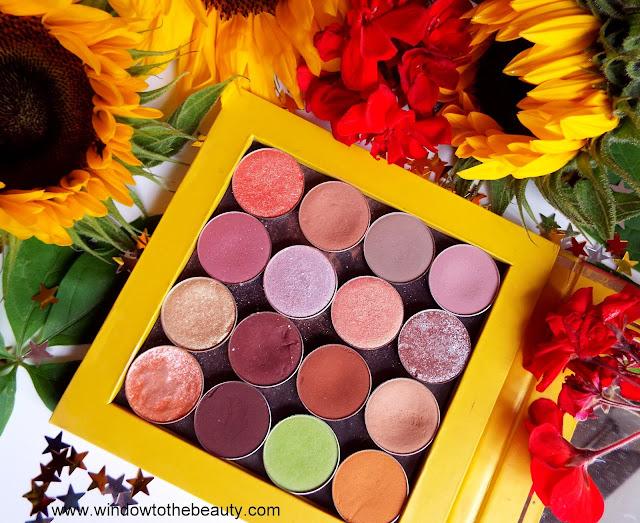 Coloured Raine paleta wizaż