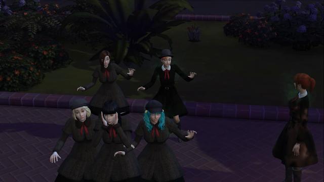 Sims 4 Girl School Uniforms