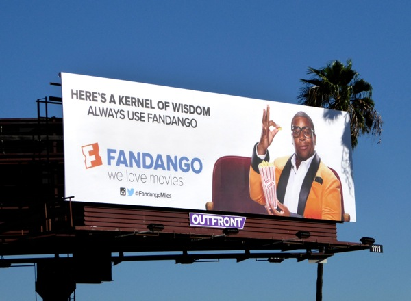 kernel of wisdom always use Fandango billboard
