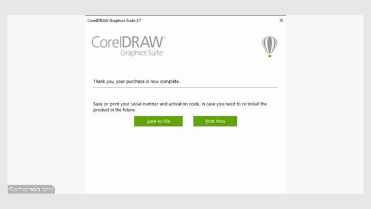 mengatasi corel draw error tidak bisa print