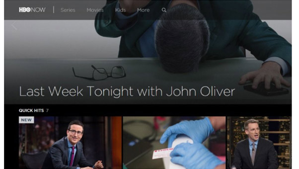 موقع HBO Now