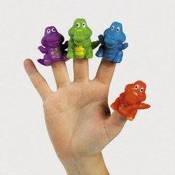 alligator finger puppets