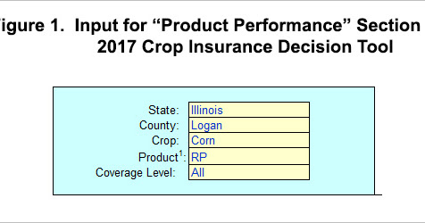 New FarmDoc Tool Assesses Performance of Crop Insurance