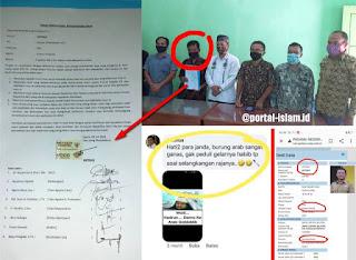 Berbekal Materai 6000, Oknum Kepala Sekolah Penghina HRS Akhirnya Minta Maaf
