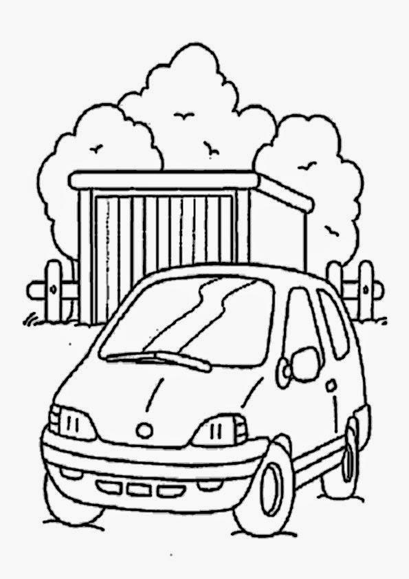 ausmalbilder autos  bilder zum ausmalen