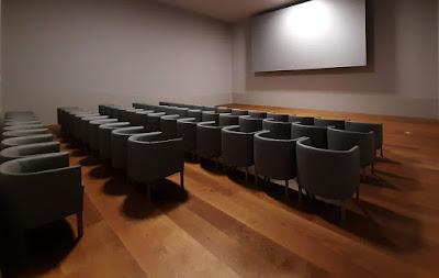 sala de projeção de cinema