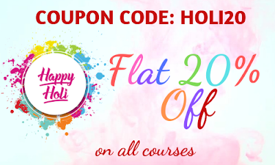 Holi Special: Flat 20% Off on All Courses