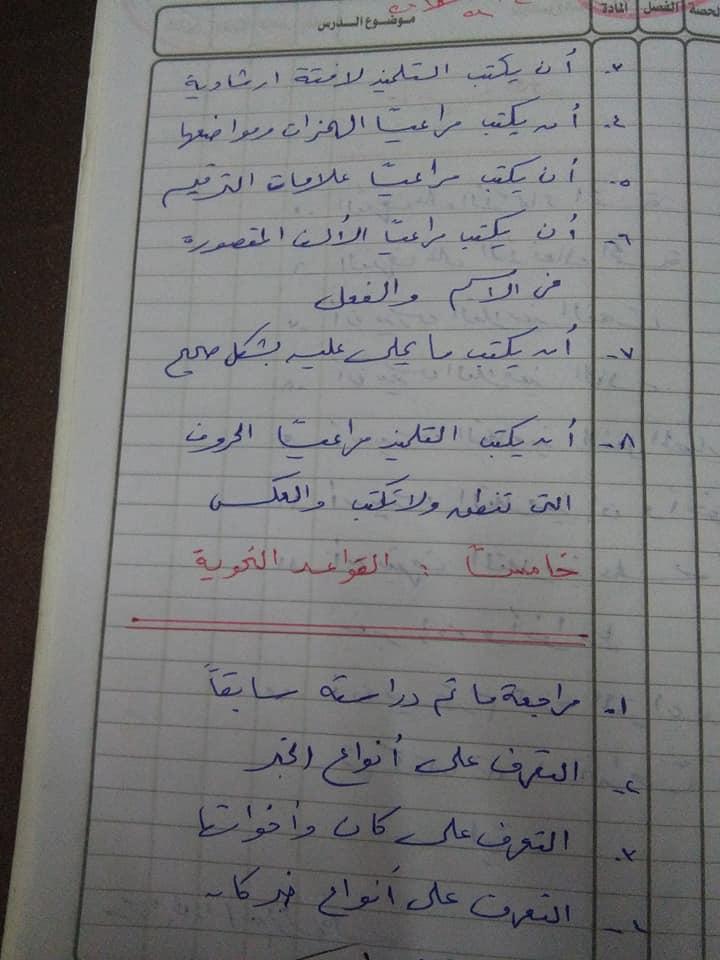 هام جدا لمعلمى اللغة العربية للصف السادس الاهداف العامة والخاصة وخريطة المنهج أ/ عزازى عبده 1%2B%252813%2529