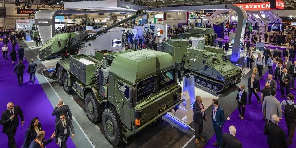 Відеоогляд міжнародної виставки озброєнь DSEI-2021