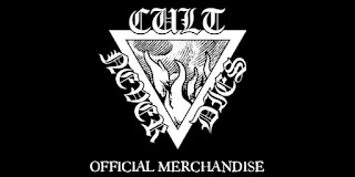 CULT NEVER DIES OFFICIAL MERCHANDISE