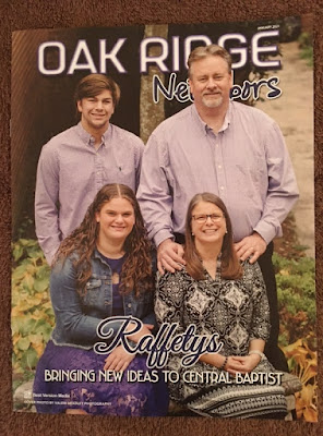 Oak Ridge Neighbors cover page where my photography was published