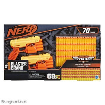 Bộ súng Nerf Alpha Strike Fang QS-4 Load Out Set