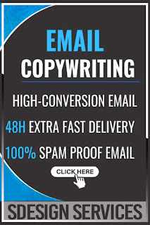 Persuasive sales email copywriting for email marketing, improving and collecting hundreds of sales