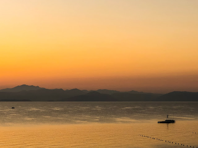 sunrise over greece, you are enough, mandy charton photography,