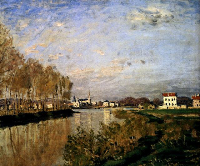 Claude Monet, quadro tramonto film Vanilla Sky