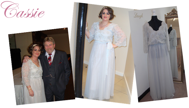 vintage soft floaty wedding dress manchester