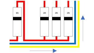 Panel Listrik Rumah Sederhana Untuk Daya Meteran 1300 watt 6A