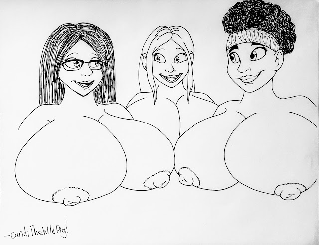 It's all three of them, except they all have massive jugs instead of just Krysta.