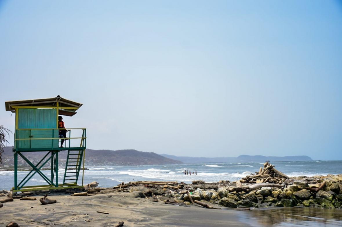 Dimar establece capacidad para playas en el Atlántico