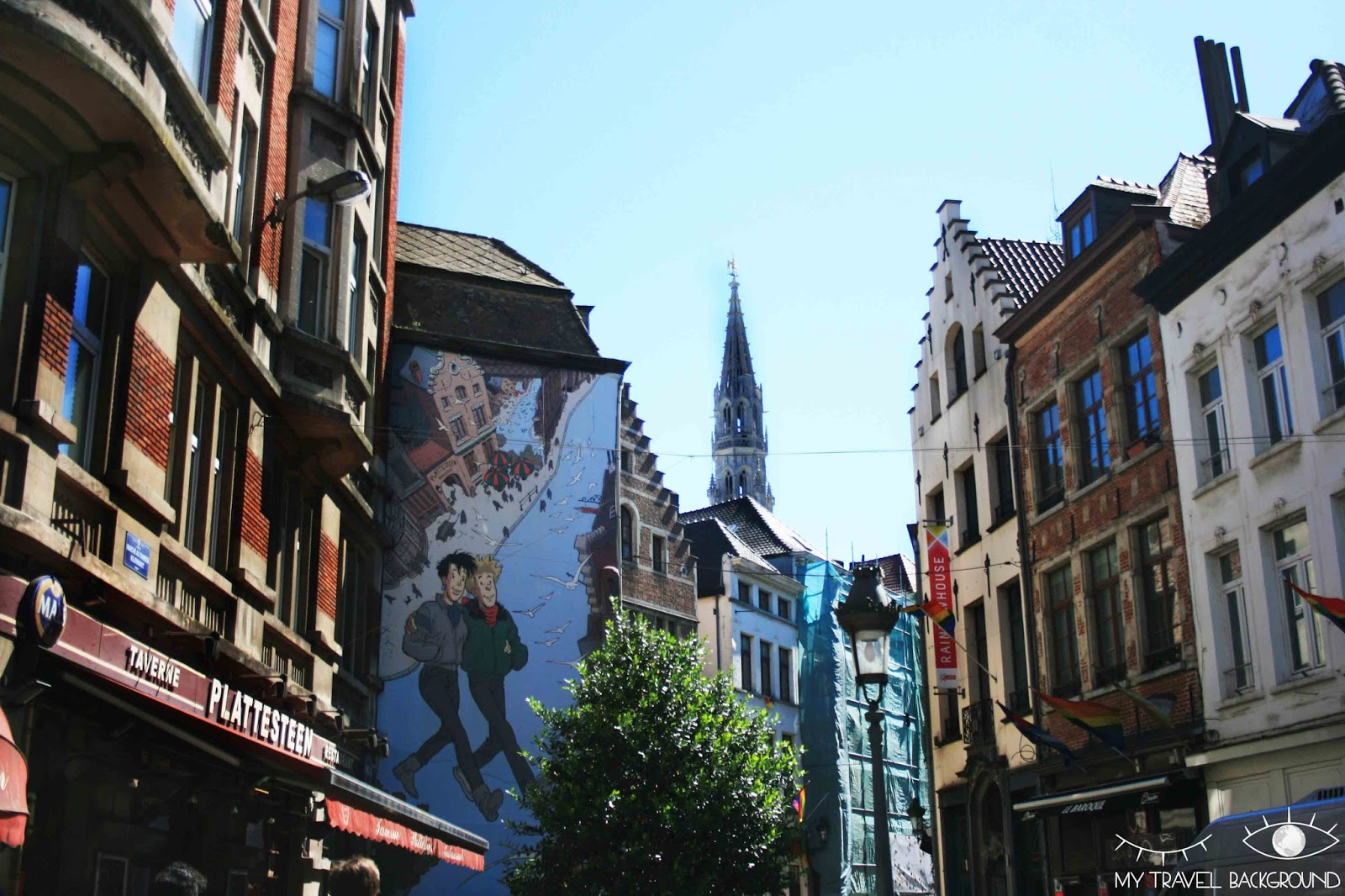 My Travel Background : Cartes Postale Belgique - Bruxelles
