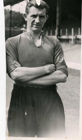Bill Jones, played for Hayfield St Matthews before signing for Liverpool