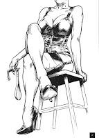 Femmes toujours: des illustrations SM et BDSM au programme
