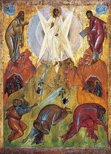 The Transfiguration of Jesus by Theophanes the Greek