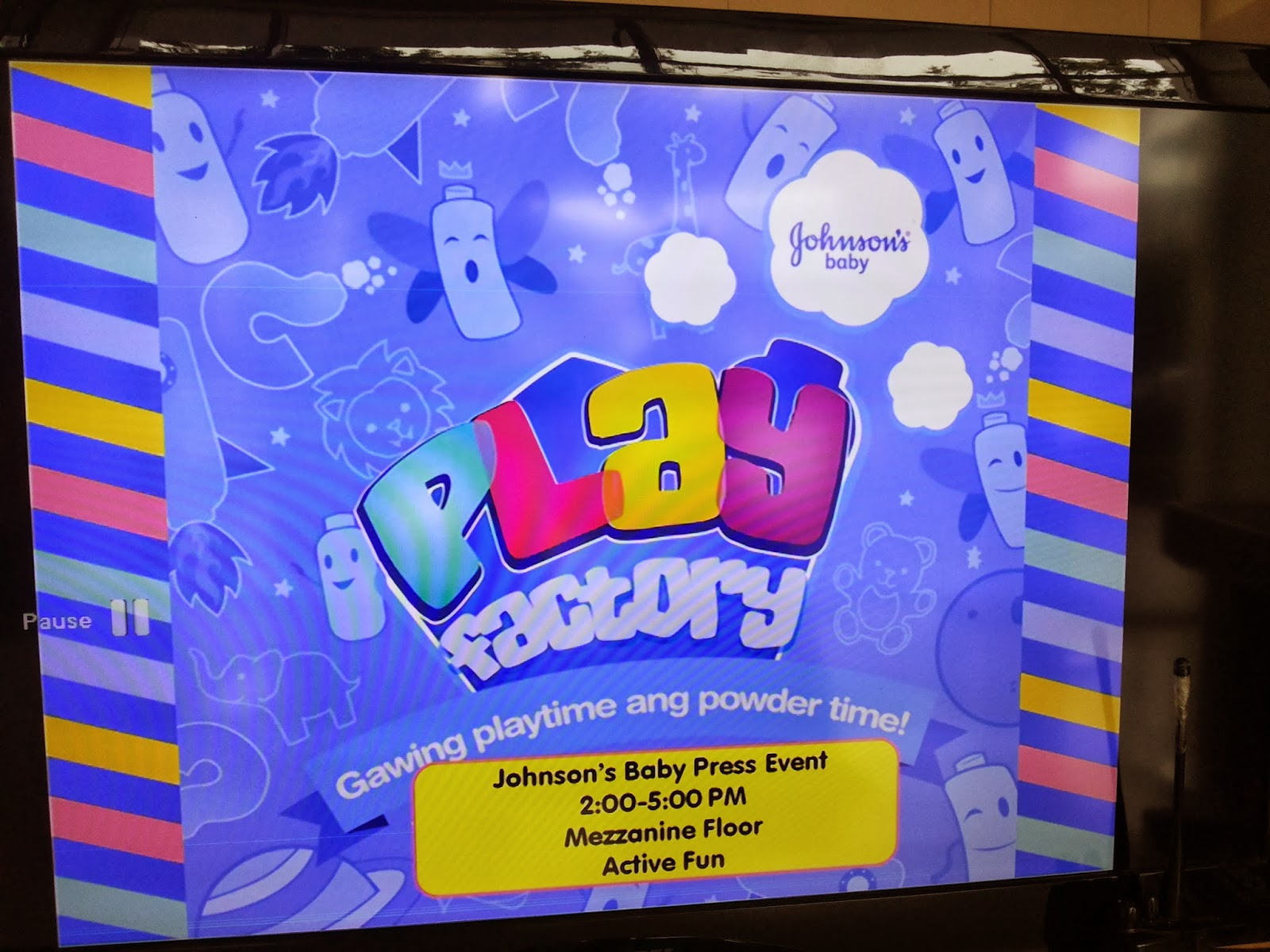 Johnson's Baby Play Factory