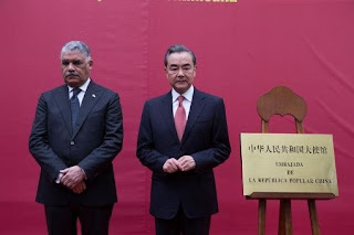 Inauguran embajada de China en República Dominicana