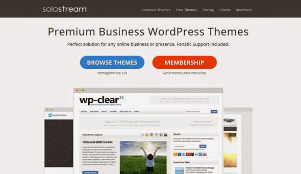 SoloStream WordPress Themes Pack Free Download - DownTechz