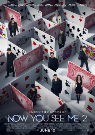 Now You See Me 2 2016 BluRay 400MB English 480p With Hindi Sub Watch Online Full Movie Download bolly4u