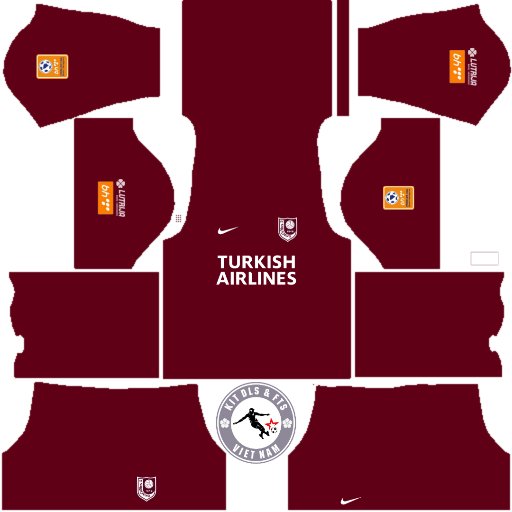 Kits CLb FK Sarajevo 2019 - 2020 Dream League Soccer 2019 & First Touch Soccer