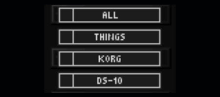 all things korg ds-10