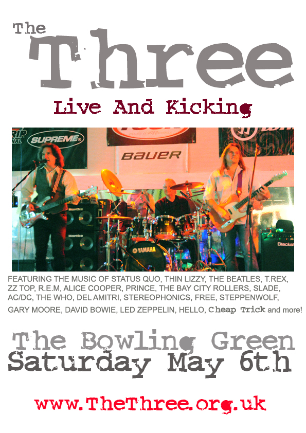 The Three. The Bowling Green, Horwich, Bolton