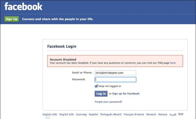 Hindi tipstricks permanently disable facebook account recover best disable facebook account recover kaise karenge ccuart Image collections