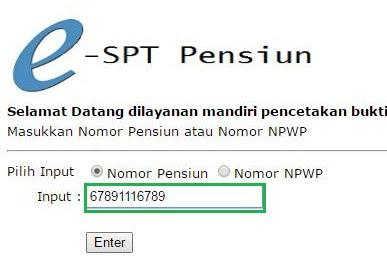 Mudahnya eSPT Pensiun : Cetak Bukti Potong Pajak Formulir 1721-A2 Pensiun