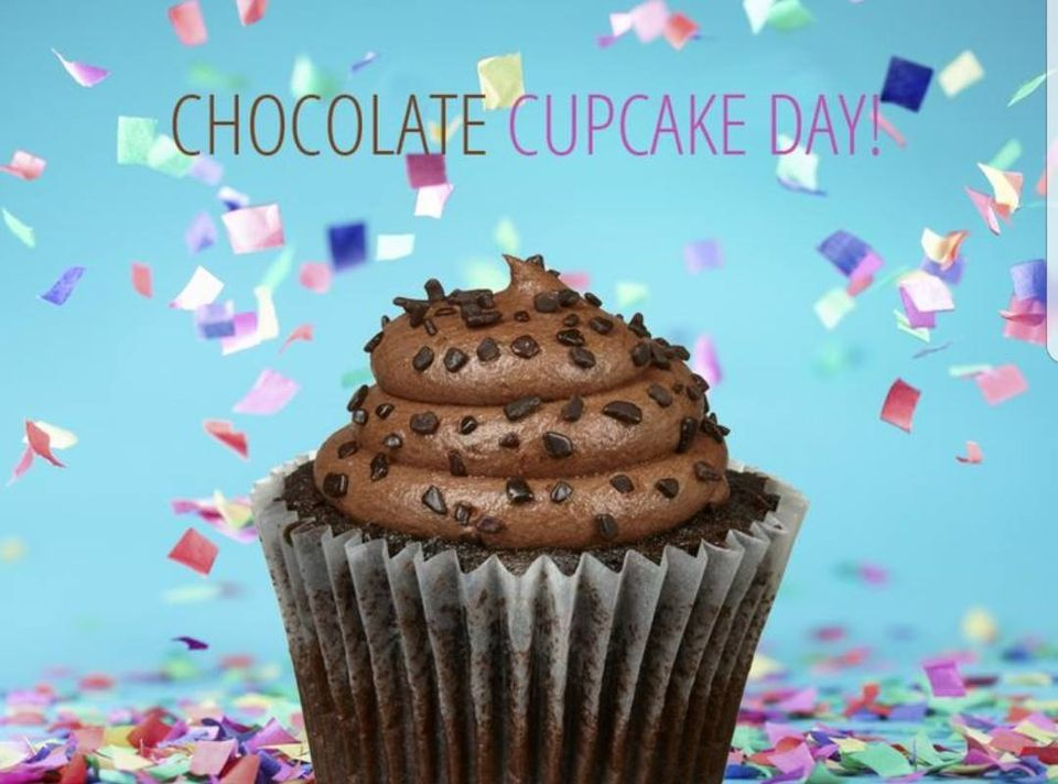 National Chocolate Cupcake Day Wishes for Instagram